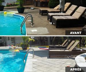 Pro paysage terrasses piscines fa ades for Recouvrement de balcon exterieur
